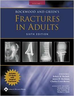 2 adult fracture green in rockwood set volume