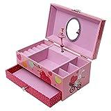 Songmics Schmuckkästchen Musikspieldose Spieldosen Musikdosen Spieluhren - Spieluhr für Kinder