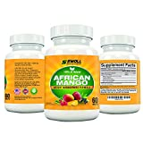African Mango Extract Cleanse w/ Raspberry Ketones, Acai Berry, Green Coffee, and Green Tea by Swoll Sports & Nutrition, 500mg, 60 Caps Vegan Diet Pill Supplement Promotes Rapid Weight Loss, Flat Abs, Control Blood Sugar Level, Rid Cellulite - Safe!
