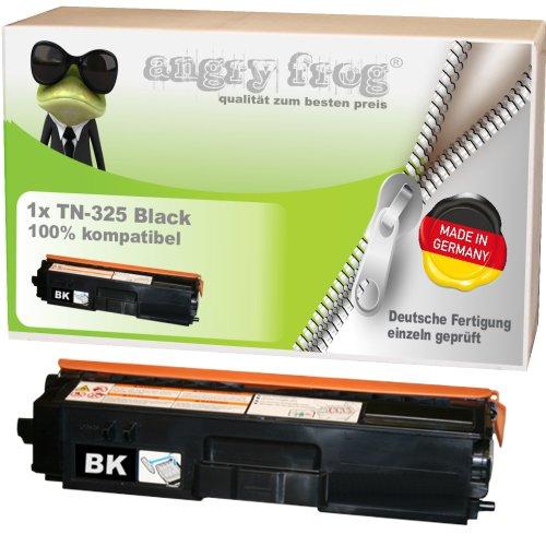 Black Toner made in Germany ersetzt BROTHER TN325 BK/ C/ M/ Y - für BROTHER DCP 9055 CDN, DCP 9270 CDN, HL 4140 CN, HL 4150 CDN, HL 4570 CDW, HL 4570 CDWT, MFC 9460 CDN, MFC 9465 CDN, BROTHER MFC 9970 CDW