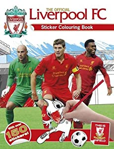 Official Liverpool Fc Sticker Colouring from Carlton Kids