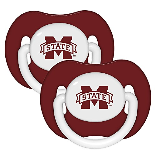 Baby Fanatic Pacifier (2 Pack) - Mississippi State University