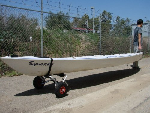Deluxe Boat Kayak Canoe Carrier Dolly Trailer