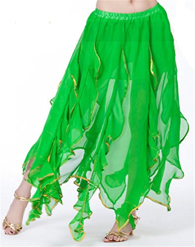 Dreamspell 2014 Lastest Chiffon Lotus Leaf Skirt, Halloween Costume