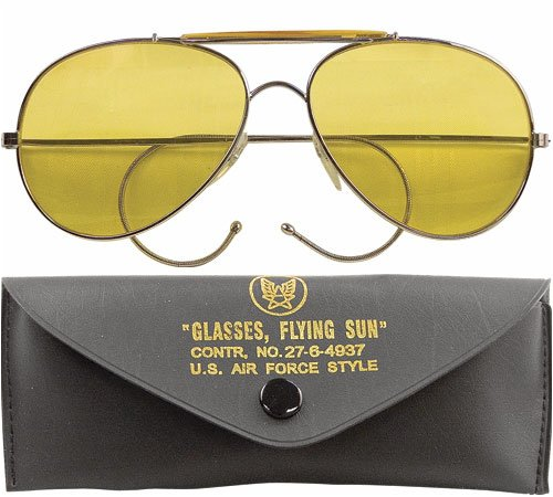 US Air Force Style Aviator Sunglasses