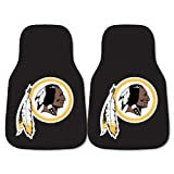 FANMATS NFL Washington Redskins Nylon Face Carpet Car Mat