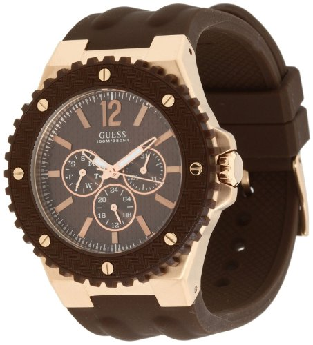GUESS U13627G1 Masculine Sport Watch - Carbon Fiber
