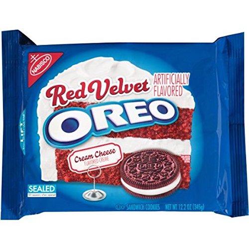 Oreo Red Velvet Sandwich Cookies,12.2 oz (2 Pack) (Oreos Red Velvet compare prices)