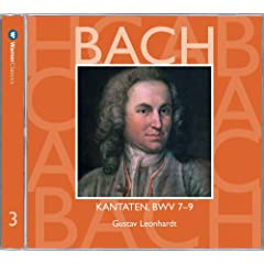 Bach, JS : Sacred Cantatas BWV Nos 7 - 9