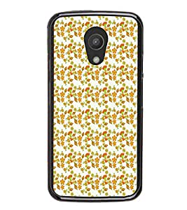 ifasho Designer Phone Back Case Cover Motorola Moto G2 :: Motorola Moto G (2nd Gen) ( White And Black Pattern Design )