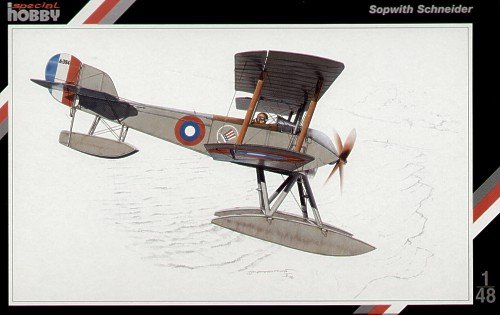 Special Hobby 48012 Sopwith Schneider Float 1:48 Plastic Kit Maquette