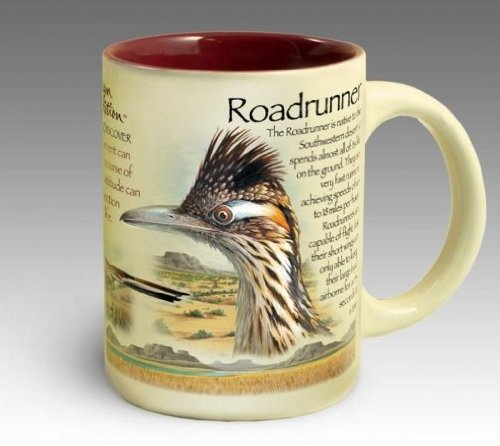 American Expedition 16oz Ceramic Coffee Mug Roadrunner