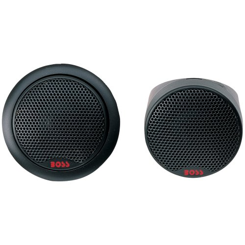 Boss TW-15 500W 1-Inch Micro Dome Tweeters 2 Pairs