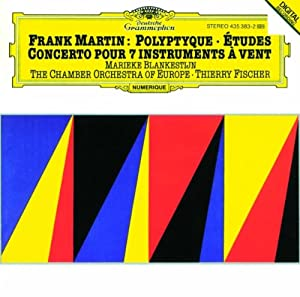 Martin: Concerto for 7 Winds / Polyptyque / Etudes