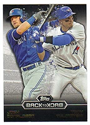 2016 Topps Back to Back #B2B-15 Troy Tulowitzki/Josh Donaldson NM-MT Blue Jays