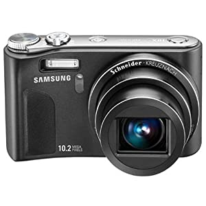 Samsung HZ10W 10MP Digital Camera with 10x Schneider Wide Angle Dual Image Stabilized Zoom and 2.7 inch LCD (Black)