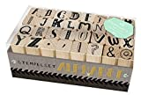 Image de Holzstempel-Set - Alphabet