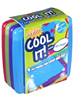 Cool Coolers Multicolored Ice Packs (Set of 4)
