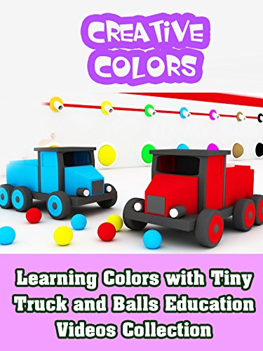 Learning Colors with Tiny Truck and Balls Education Videos Collection on Amazon Prime Video UK