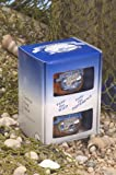 Alaska Smoked Salmon - Copper River Seafoods, Inc. - 2 Pack Set - 2 Jar Gift Pack - Each set - 6.5 oz.Smoked Sockeye Salmon, 6.5 oz. Smoked Coho (silver) Salmon - (26 oz. total)