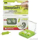 Alpine Sleepsoft Ohrstöpsel + Free Cleaner - Neue Generation