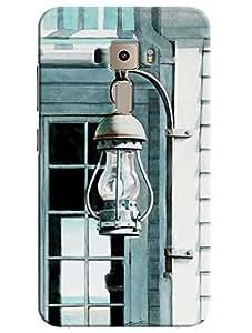 Omnam Laltern Hanging On Door Designer Printed Back Cover Case For Asus Zenfone 3 ZE552KL