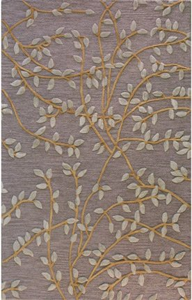 Bashian Verona Collection Rug LC107 - Chocolate - R130-CHOC-9X12-LC107