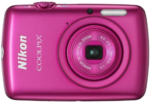 Nikon COOLPIX S01 Compact Digital Camera - Pink (10.1MP Black Friday & Cyber Monday 2014