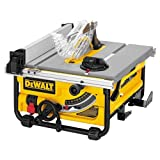 DEWALT DW745 10-Inch Compact Job-Site Table Saw with 20-Inch Max Rip Capacity