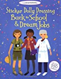 Fiona Watt Back to School & Dream Jobs Bind Up (Usborne Sticker Dolly Dressing)