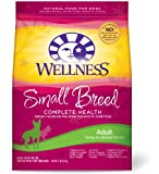 Wellness Complete Health Natural Dry Dog Food, Small Breed Turkey & Oatmeal Recipe, 12-Pound Bag