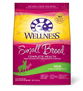 Wellness  Dry Dog Food, Adult Small Breed Health Recipe, 12-Pound Bag