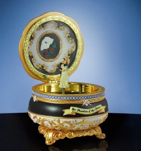 Phantom of the Opera - Phantom and Christine - Hinged Trinket Box