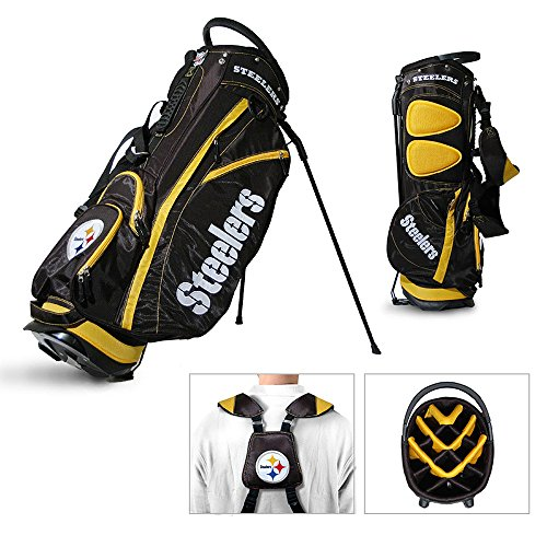 Team Golf NFL Fairway Stand Bag - Pittsburgh Steelers from SteelerMania