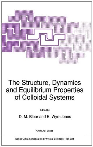 The Structure, Dynamics and Equilibrium Properties of Colloidal Systems: Proceedings (Nato Science Series C:)