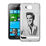 Elvis Presley Black White Smiling Phone Hard Shell Case for Samsung Galaxy S3 S4 S5 Mini Ace Nexus Note & more - Samsung Ativ S i8750