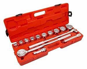 Crescent CTK14SAE 3/4-Inch SAE Mechanics Tool Set, 14-Piece