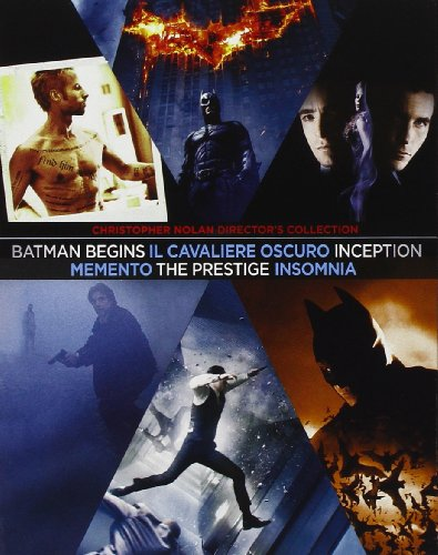 Christopher Nolan Director'S Collection (8 Blu-Ray) (Ltd Ed) [Italian Edition]