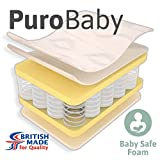 Little Mattress Company? - PuroBaby Deluxe Pocket Sprung Cot Bed Mattress - 139cm x 69cm x 10cm - Including FREE...