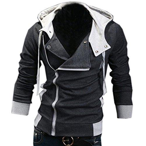 Partiss Herren Jungen Cosplay Kostüm Oben Jacke Hoodie