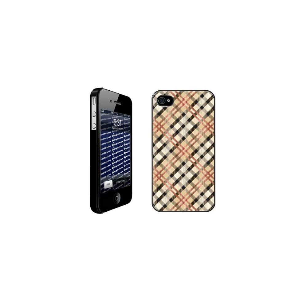 Burberry)   iPhone Hard Case   BLACK Protective iPhone 4/iPhone 4S