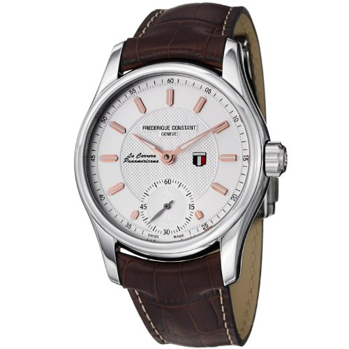 Frederique Constant Men's FC-435V6B6 VintageRally Brown Leather Strap Watch