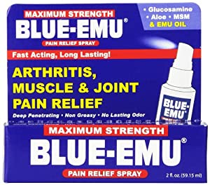 Nfi Consumer Products Blue Emu Pain Spray, 2 Ounce Bottle