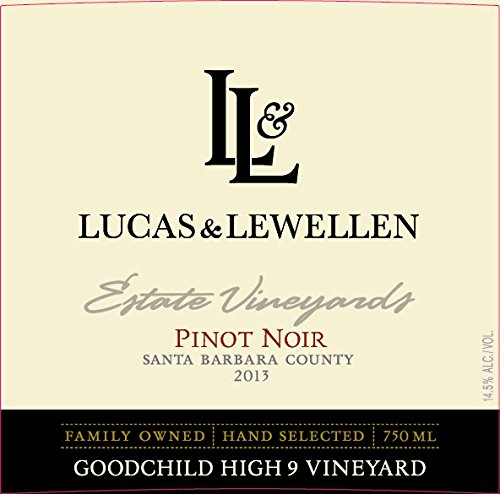 2013 Lucas & Lewellen Pinot Noir - Goodchild High 9 Vineyard 750Ml