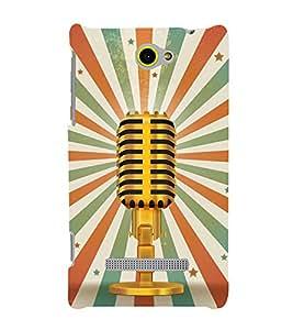 Loud Speaker Vintage Awaj 3D Hard Polycarbonate Designer Back Case Cover for HTC Windows 8S