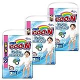 [ケース販売]グーン(GOO.N) やわらかフィットパンツ Lサイズ (9~14kg) 174枚(58枚入×3パック) 男の子 ランキングお取り寄せ