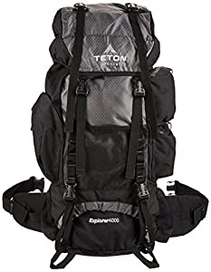 TETON Sports Explorer 4000 Internal Frame Backpack (Grey)