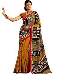 CSE Bazaar Women Indian Beautiful Fancy Party Wear Traditional Wedding Saree Sari - B00SO6PH8C