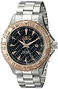 Invicta Men's 12557SYB Pro Diver Analog Display Japanese Quartz Silver Watch