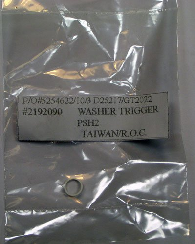 Porter-Cable Porter Cable PSH2 HVLP Gun OEM Replacement Washer Trigger # D25217 at Sears.com